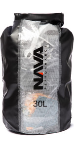 2020 Nava Performance 30L Drybag With Backpack Straps NAVA004 - Black