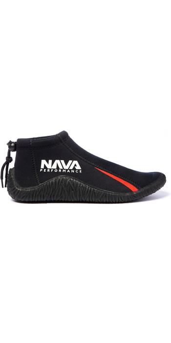 2021 Nava Performance Low-Cut 3mm Neopren Stiefel Navabt01 - Schwarz
