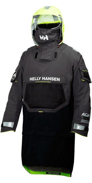 2018 Helly Hansen AEGIR OCEAN DRY TOP Ebony 32006