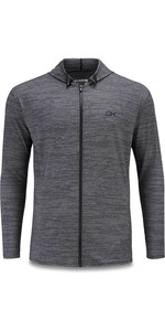 2020 Dakine Mænds Rødder Løs Fit Front Zip Surf Hoody 10002788 - Sort Lyng
