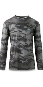 2020 Dakine Men's Heavy Duty Fit Fit Long Sleeve Surf Shirt 10002793 - Dark Ashcroft Camo
