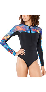 2020 Dakine Womens Persuasive Long Sleeve Surf Suit 10002801 - Kassia Elemental