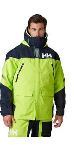 2020 Helly Hansen Chaqueta De Vela Skagen Offshore Para Hombre 33907 - Azid Lime