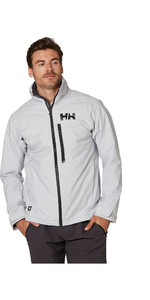 2020 Helly Hansen Herre Hp Racing Midlayer Jakke 34041 - Grå Tåge