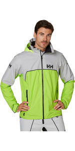 2020 Helly Hansen Heren Hp Folie Licht Zeiljack 34151 - Azid Lime