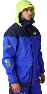 2020 Helly Hansen Chaqueta De Navegación Para Hombre Pier 34156 - Azul Real
