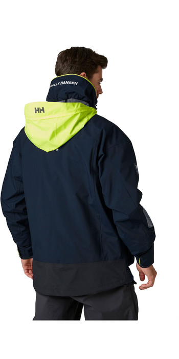 2020 Helly Hansen Menns Pier Seiling Jakke 34156 Navy