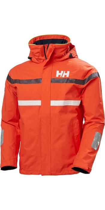 2020 Helly Hansen Mens Saltro Sailing Jacket 34173 Cherry