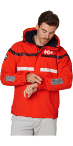 2020 Helly Hansen Mens Saltro Sailing Jacket 34173 - Cherry Tomato