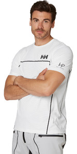 2020 Helly Hansen Hp Folie Ozean T-shirt 34160 - Weiß