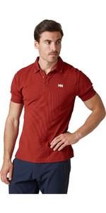 2020 Helly Hansen Herre Driftline Polo Shirt 50584 - Oxblood