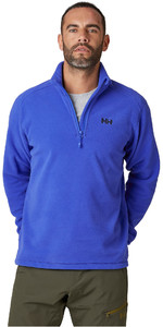 2021 Helly Hansen Dos Homens Daybreaker 1/2 Zip Fleece 50844 - Azul Real