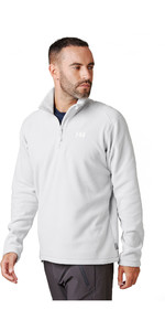 2020 Helly Hansen Herrar Daybreaker 1/2 Zip Fleece 50844 - Grå Dimma