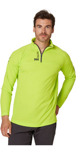 2020 Helly Hansen Hp 1/2 Zip Technical Pullover 54213 - Azid Lime