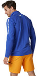 2020 Helly Hansen Hansen Pullover Technical Uomo 1/2 Zip Hp 54213 - Blu Reale