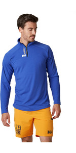 2020 Helly Hansen Mens HP 1/2 Zip Technical Pullover 54213 - Royal Blue