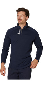 2020 Helly Hansen Hombres Hp 1/2 Zip Jersey Technical 54213 - Navy