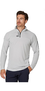 2020 Helly Hansen Mens HP 1/2 Zip Technical Pullover 54213 - Grey Fog