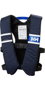 2020 Helly Hansen 50n Comfort Ayuda Flotante Compacta 33811 - Azul Noche