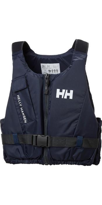 2021 Helly Hansen 50n Rider Weste / Schwimmhilfe 33820 - Abend Blau
