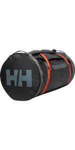2020 Helly Hansen 90L Duffel Bag 2 68003 - Ebony / Cherry Tomato