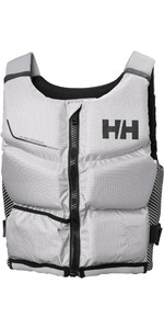 2020 Helly Hansen Rider Stealth Zip 50N Buoyancy Aid 33841 - Grey Fog