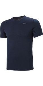 2020 Helly Hansen Herren Helly Hansen Active Solent T-Shirt 49349 - Navy