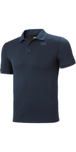 2021 Helly Hansen Hombres Lifa Active Solen Polo 49350 - Navy