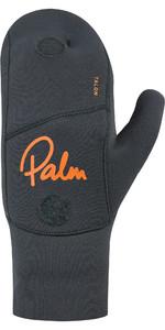 2020 Palm Talon 3mm Open Palm Neoprene Mitts 12327 - Jet Grey