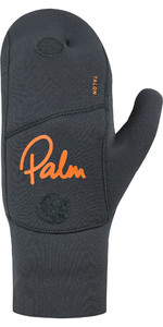 Mitaines En Néoprène Palm Ouverte 3mm Palm Talon 2020 12327 - Gris Jet