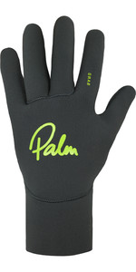 2020 Palm Grab 1.5mm Guantes De Neopreno 12328 - Gris Azabache