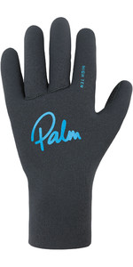 2020 Palm Grab High Ten Guantes De Neopreno 12329 - Gris Azabache
