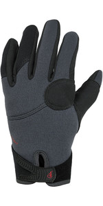 2020 Palm Gaspedaal 2mm Neopreen Handschoenen 12332 - Jet Grijs