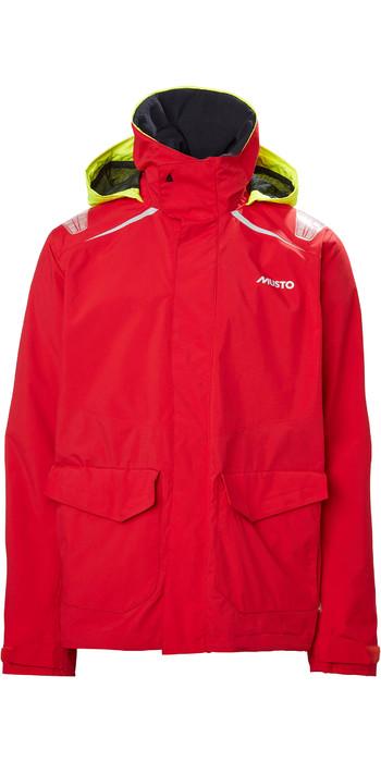2021 Musto Mens BR1 Inshore Sailing Jacket 81208 - True Red