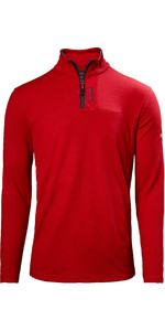 2021 Musto Mens Sardinia 1/2 Zip Fleece 82021 - Rot