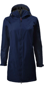 2020 Musto Womens Sardinia Long Rain Jacket 82022 - Navy