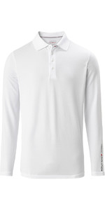 2020 Musto Mens Evolution Long Sleeve Sunblock Polo 2.0 81147 - White