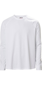 2021 Musto Mens Evolution Long Sleeve Sunblock Tee 2.0 81155 - White