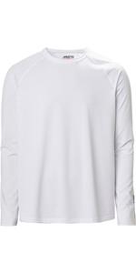 2020 Musto Mens Evolution Long Sleeve Sunblock Tee 2.0 81155 - White