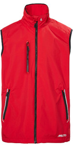 2021 Musto Mens Sardinia 2 Sailing Gilet 82007 - True Red