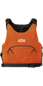 2021 Gill Junior Pro Racer Side Zip 50N Gilet D'aide à La Flottabilité 4916J - Orange