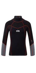2020 Gill Junior Zentherm 2.5mm Gbs Neoprene Top 5001j - Nero