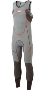 2021 Gill Mens Zenlite 2mm Flatlock Skiff Suit 5002 - Steel Grey