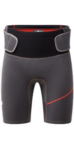 2020 Gill Herren Zenlit 2mm Flatlock Neopren Shorts 5004 - Graphite