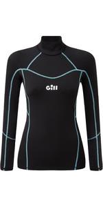 2021 Gill Des Femmes Hydrophobe Manches Longues 5006w - Noir