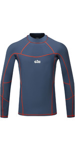 2020 Gill Mens Pro Long Sleeve Rash Vest 5020 - Ocean