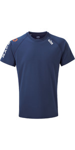2020 Gill Mens Race Tee RS36 - Dark Blue