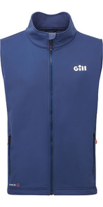 2020 Gill Mens Race Softshell Gilet RS40 - Dark Blue