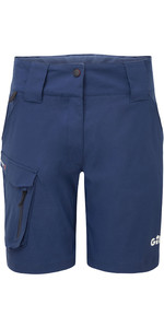 2021 Gill Womens Race Shorts RS42W - Dark Blue