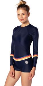 2020 Rip Curl Frauen Boyleg Langarm UV-Surfanzug Wly6kw - Streifen